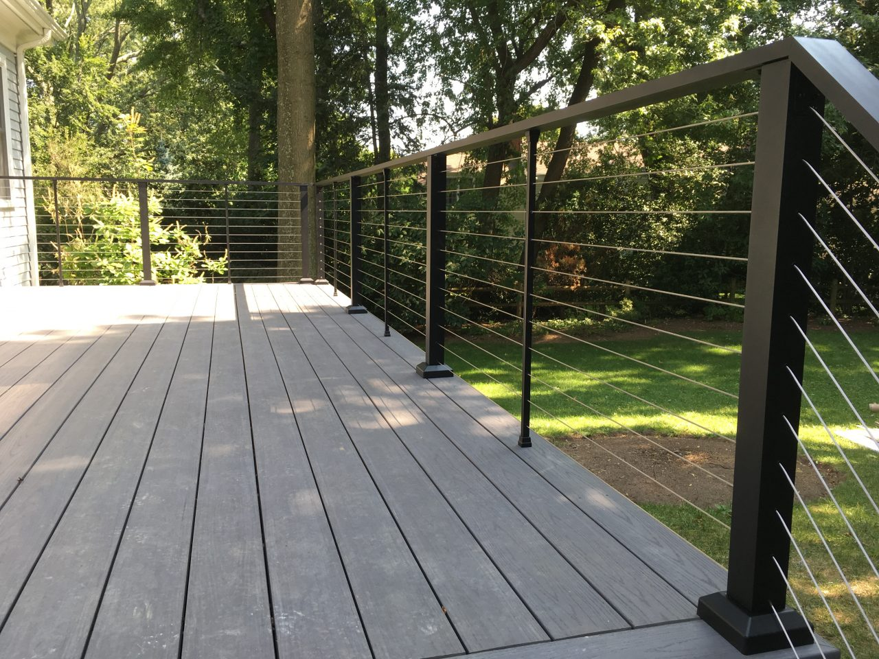 Aluminum Porch Hand Railing Installation Queens
