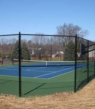 Tennis Courts Fence Installation Queens